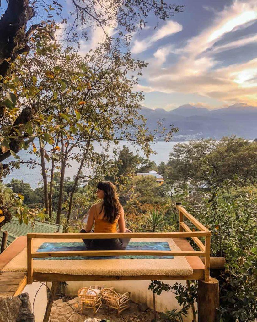 meditation yoga stand at san marcos airbnb