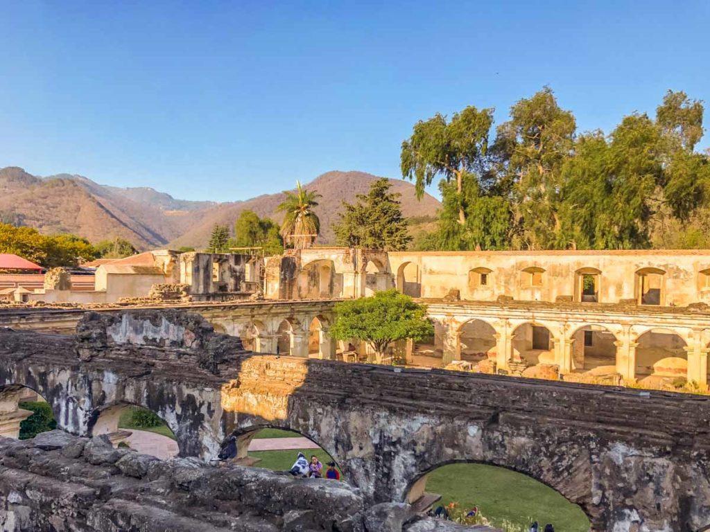 santa clara ex-convent antigua guatemala