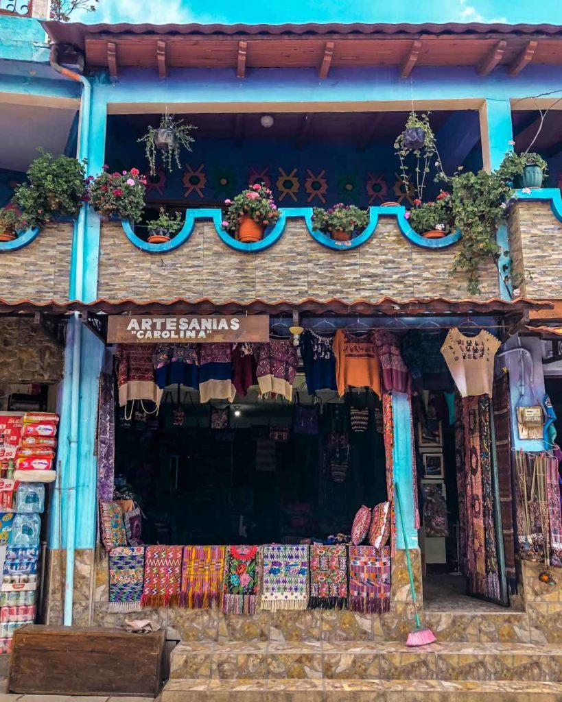 where to buy artisan work at lake atitlan