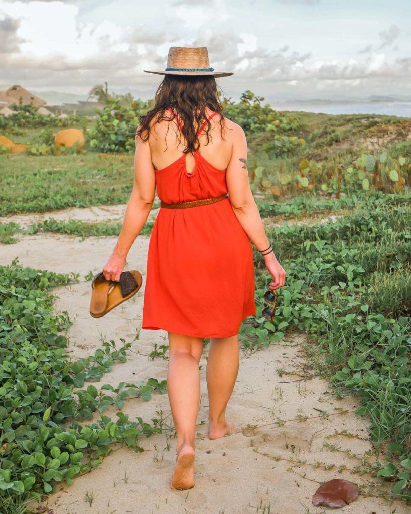 women's dress zero waste fashion
