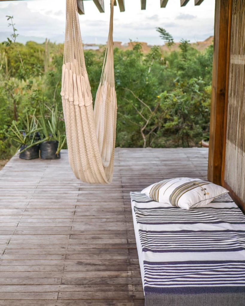 deck at casitas by the sea