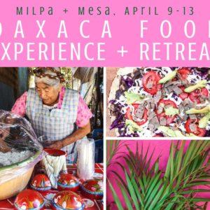 Copy of Copy of Copy of Oaxaca Retreat Milpa + Mesa, Oaxaca Food Tour Experience LR