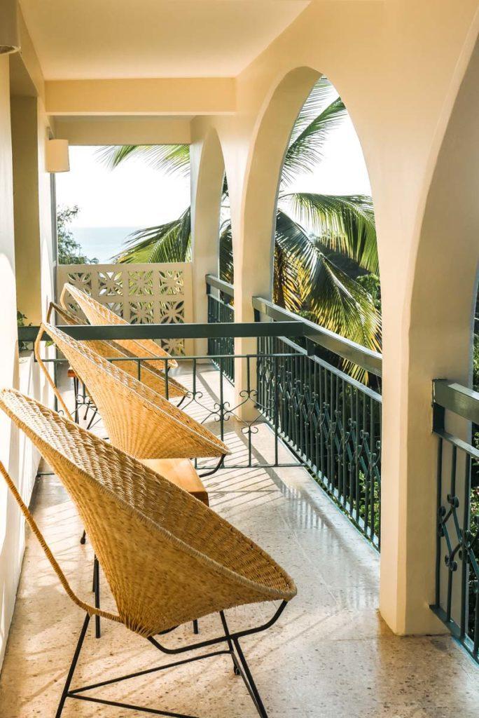 balcony at hotel villasol playa bacocho