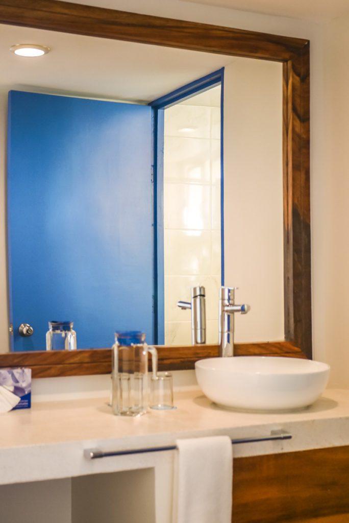 bathroom at villa sol puerto escondido