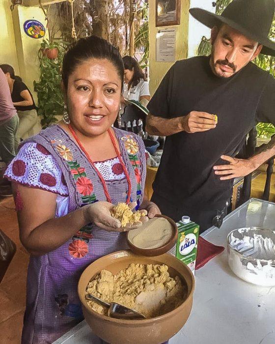 nixtamal corn processing workshop oaxaca retreats
