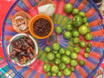 oaxaca food tour cooking class