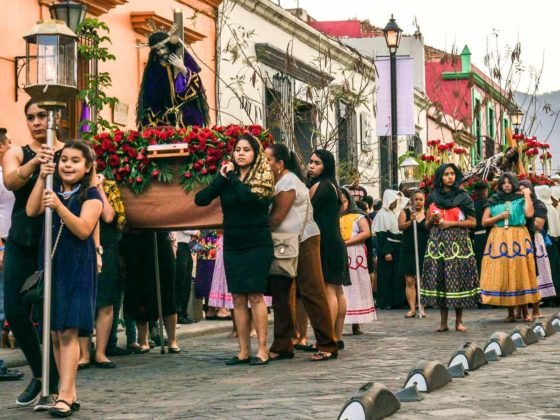 oaxaca retreats during semana santa