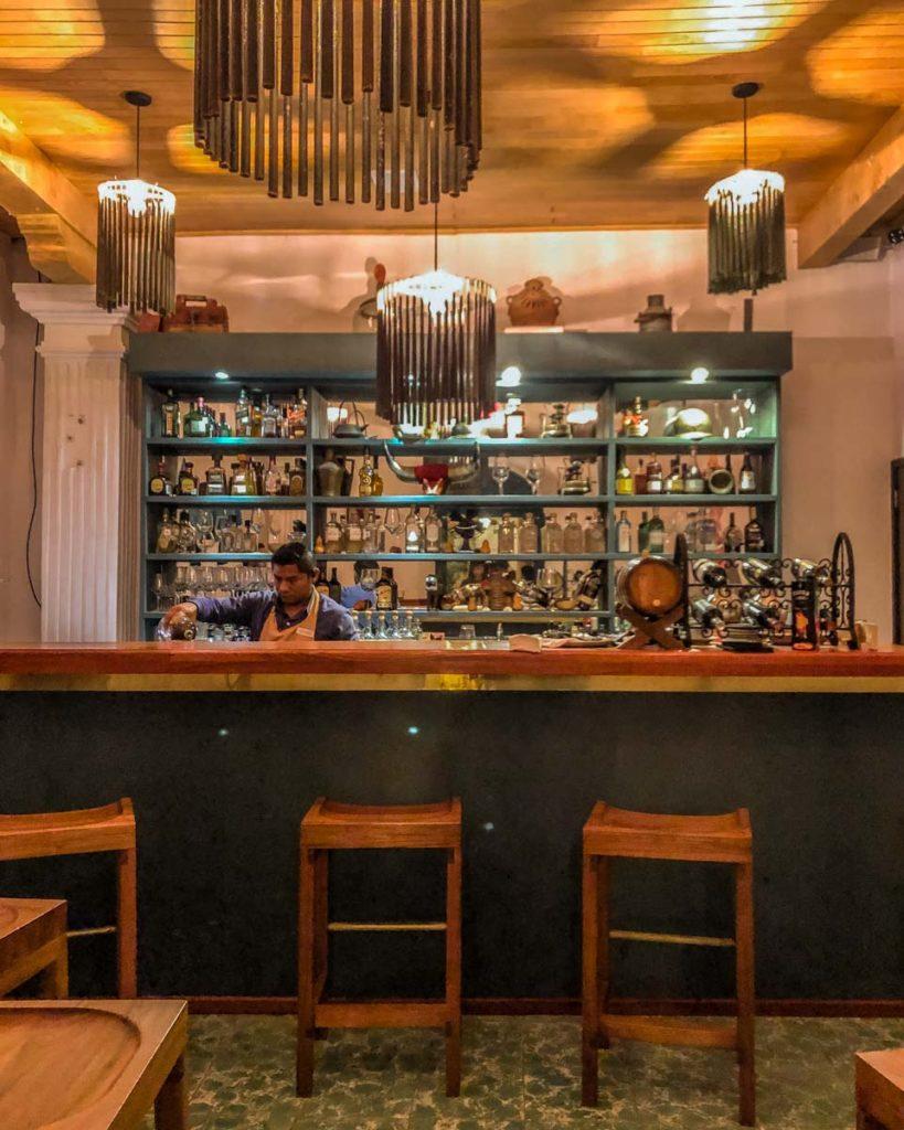 bar poxna at hotel in san cristobal