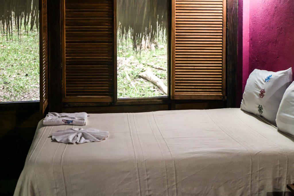 cabin at las guacamayas chiapas