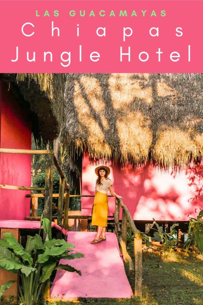 chiapas jungle hotel las guacamayas pinterestLR