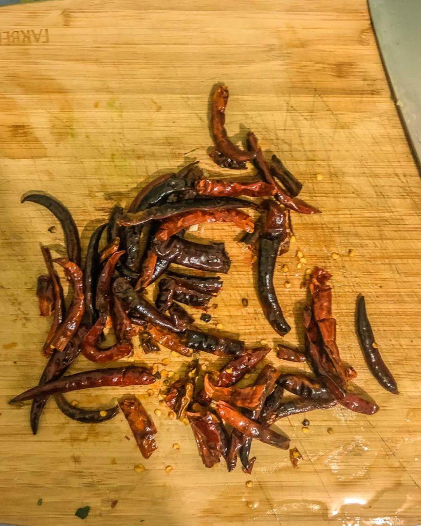 homemade spicy burgers guajillo chile