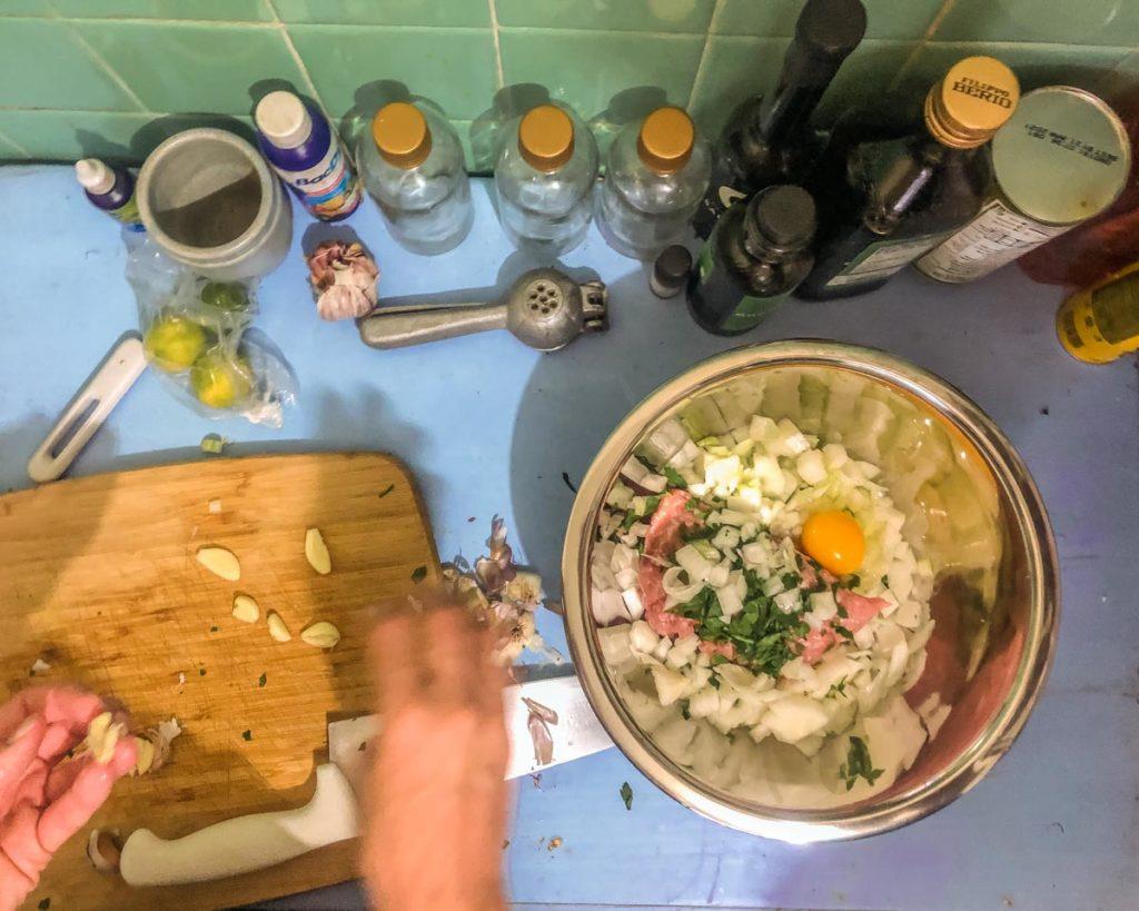 making oaxaca hamburgers