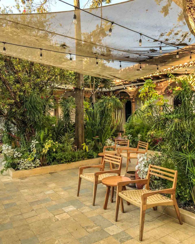 patio and common areas best hotels in san cristobal de las casas