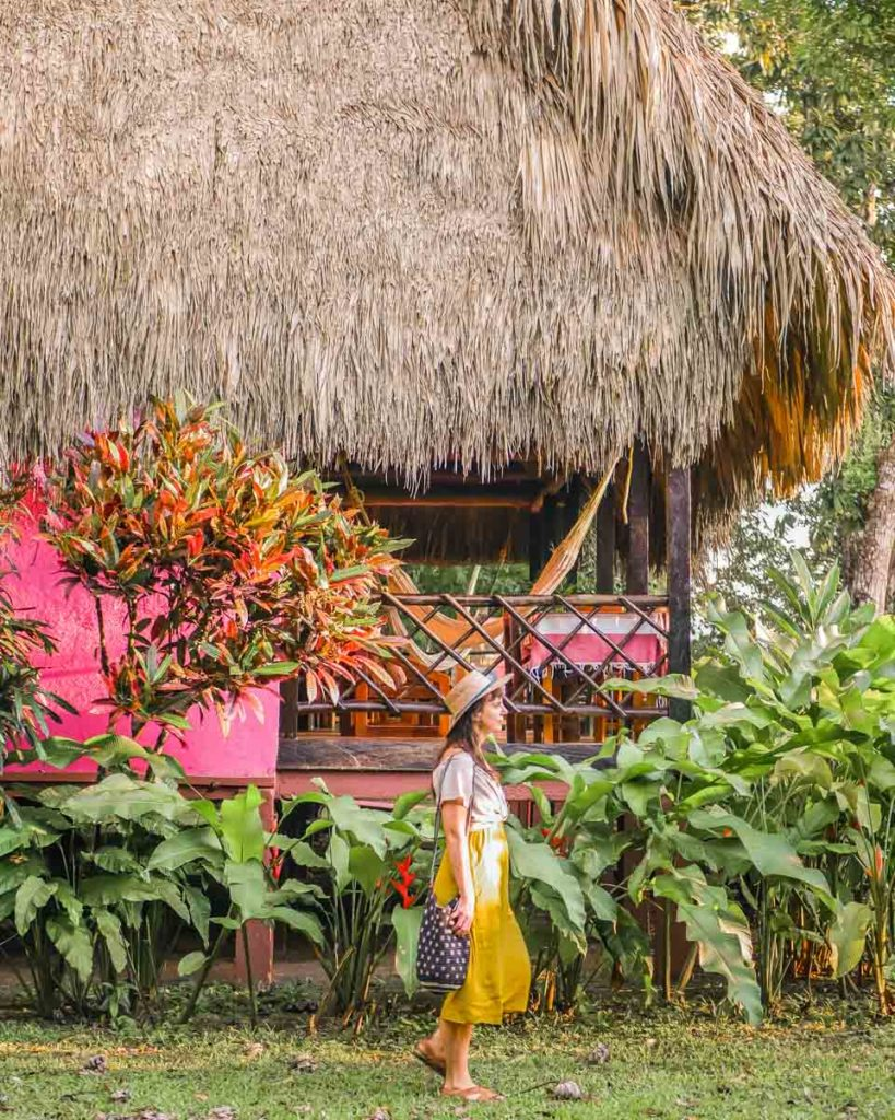 pretty cabins at chiapas jungle lodge