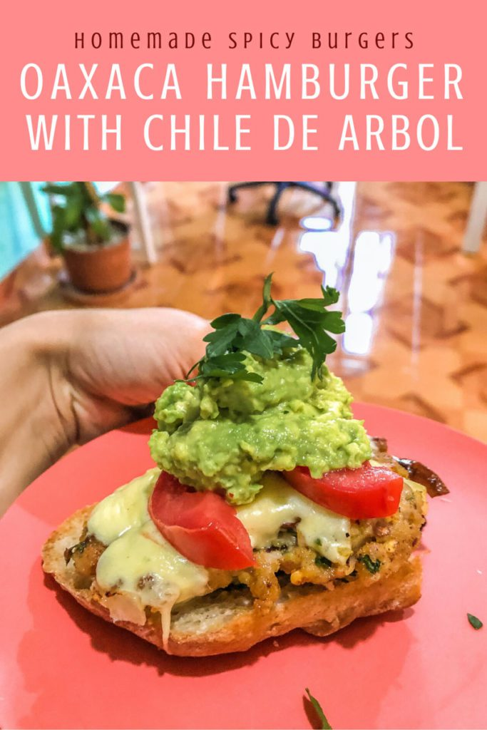 Copy of Copy of homemade spicy burgers, oaxaca style with chile arbolLR