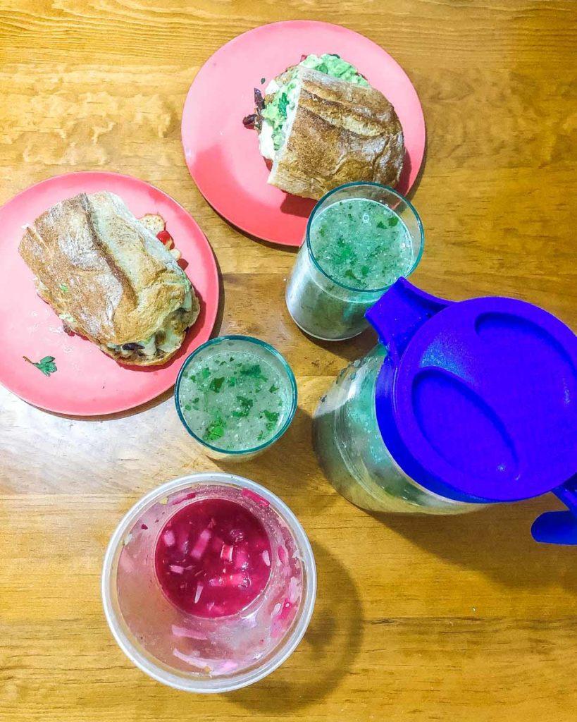 agua de pepino con chia final result