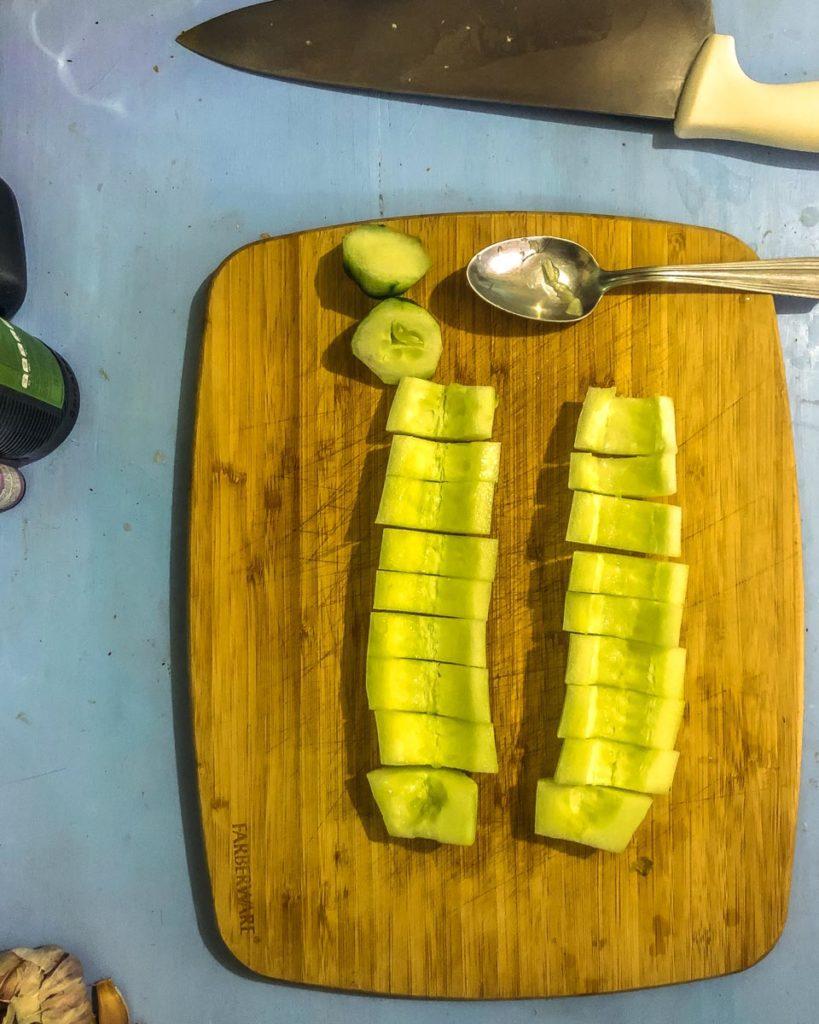 cucumber flavored water recipe