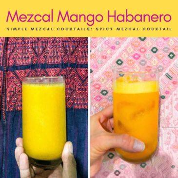 tCopy of spicy mezcal cocktail mango habanero simple mezcal cocktails copyLR