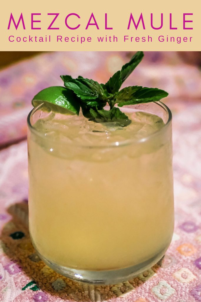 Copy of mezcal mule recipe