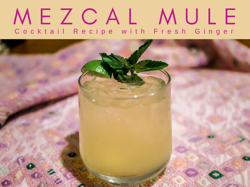 mezcal mule recipe