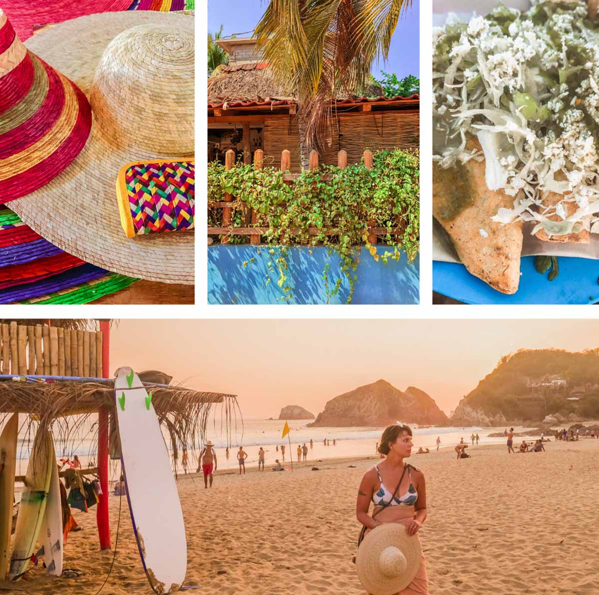 1 week coastal oaxaca itinerary zipolite beach