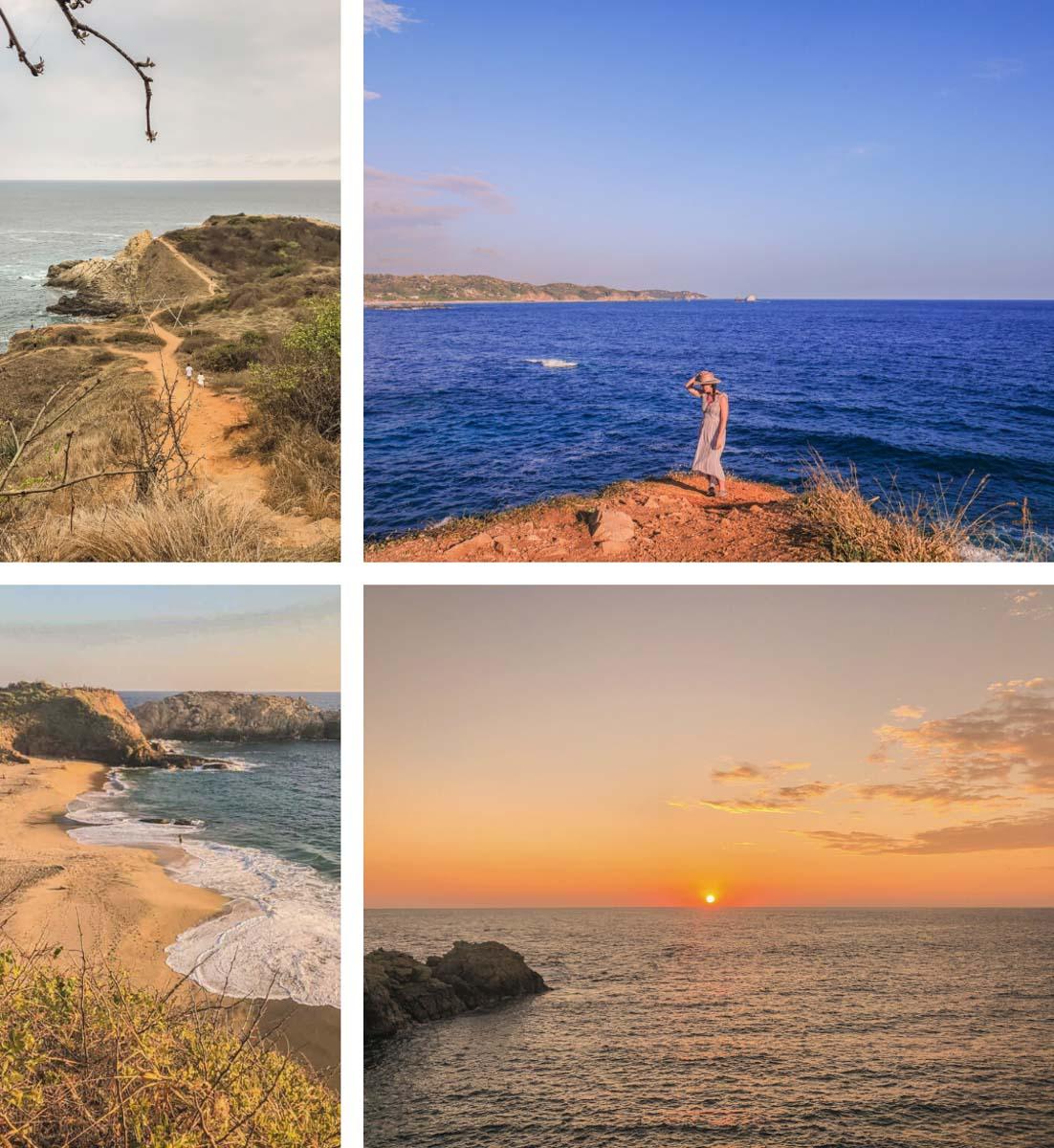 best oaxaca beaches punta cometa mazunte