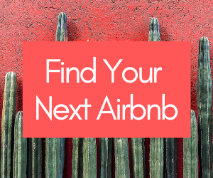 find your next airbnb banner