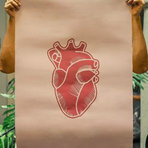 yolotsin corazon rojo in mussLR