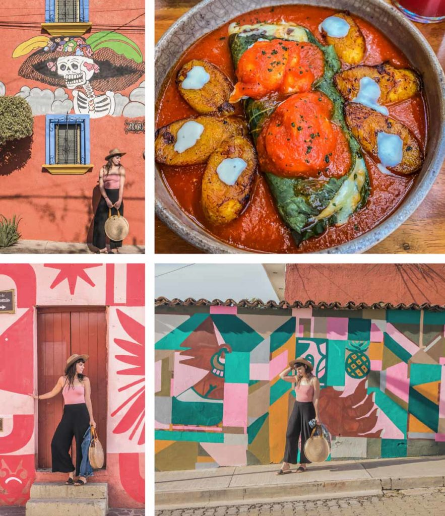 7 day itinerary in oaxaca murals and breakfast