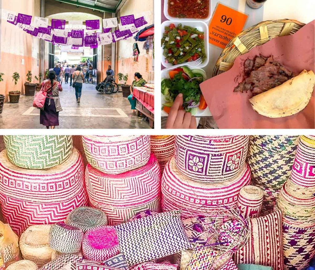 markets in oaxaca and what to eat