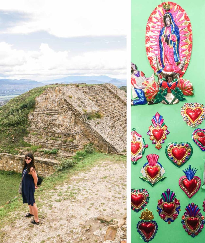 monte alban and shopping in oaxaca