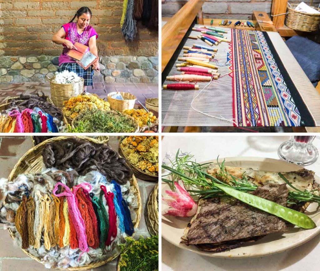 textiles in oaxaca teotitlan del valle