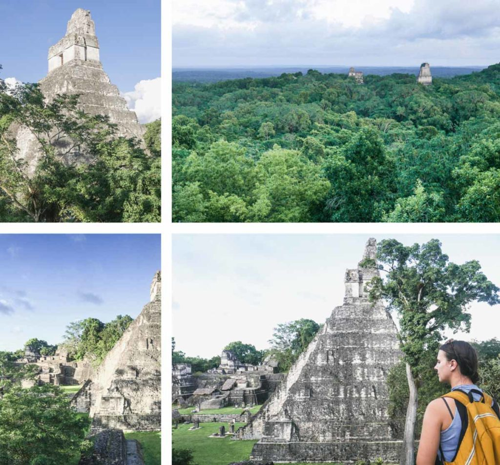tour to tikal ruins from flores guatemala