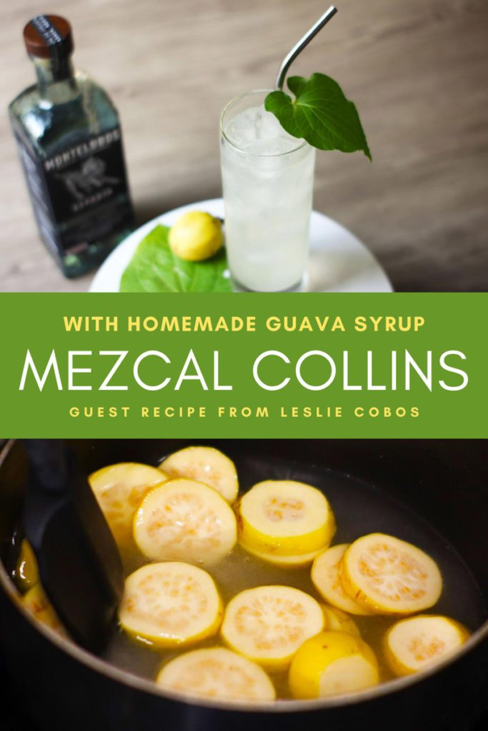 Copy of Copy of Copy of Mezcal Collins Recipe Classic Mezcal CocktailsLR