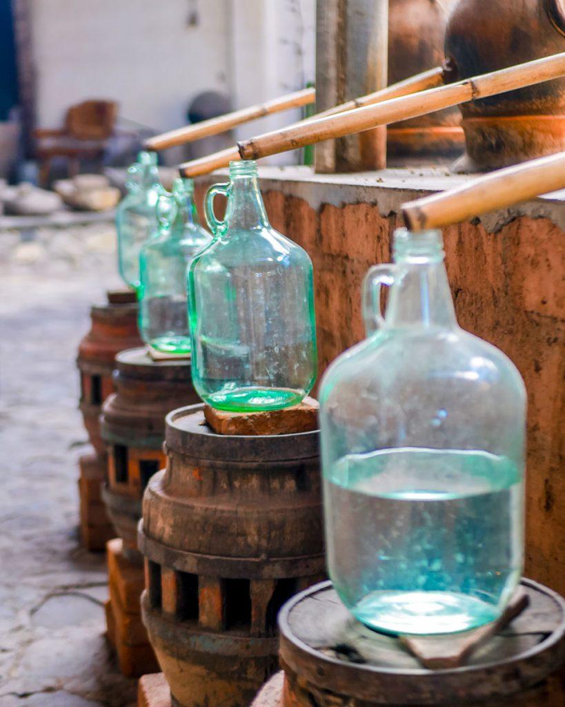 distilling mezcal