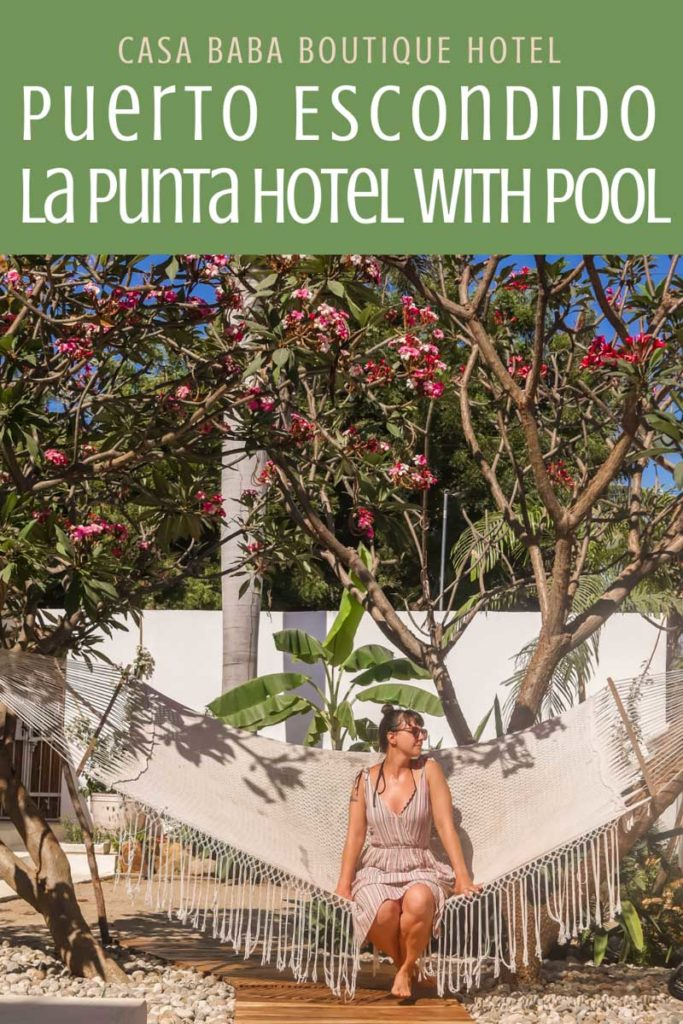 Copy of Puerto Escondido La Punta Hotel: Casa Baba with Pool