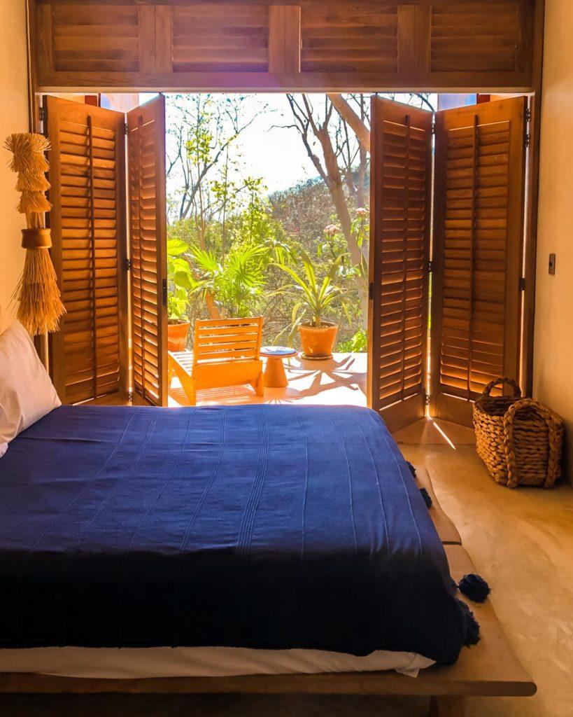 bedroom hotel in san agustinillo