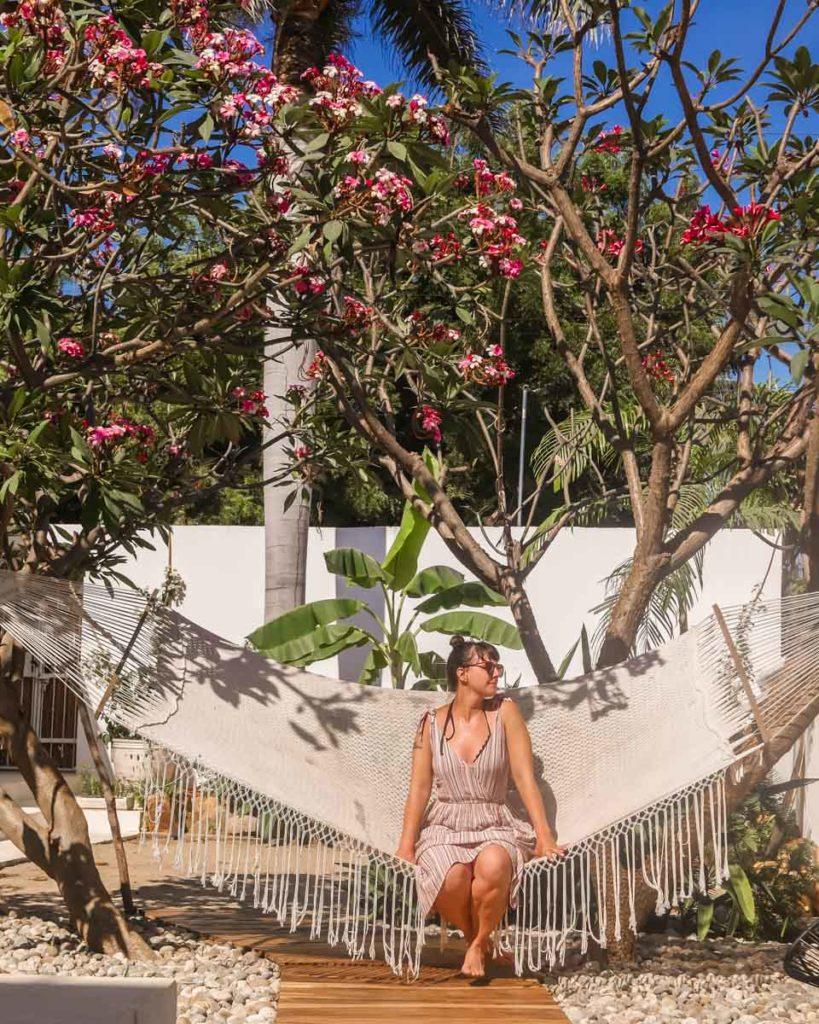 hammock and hang out areas la punta hotel