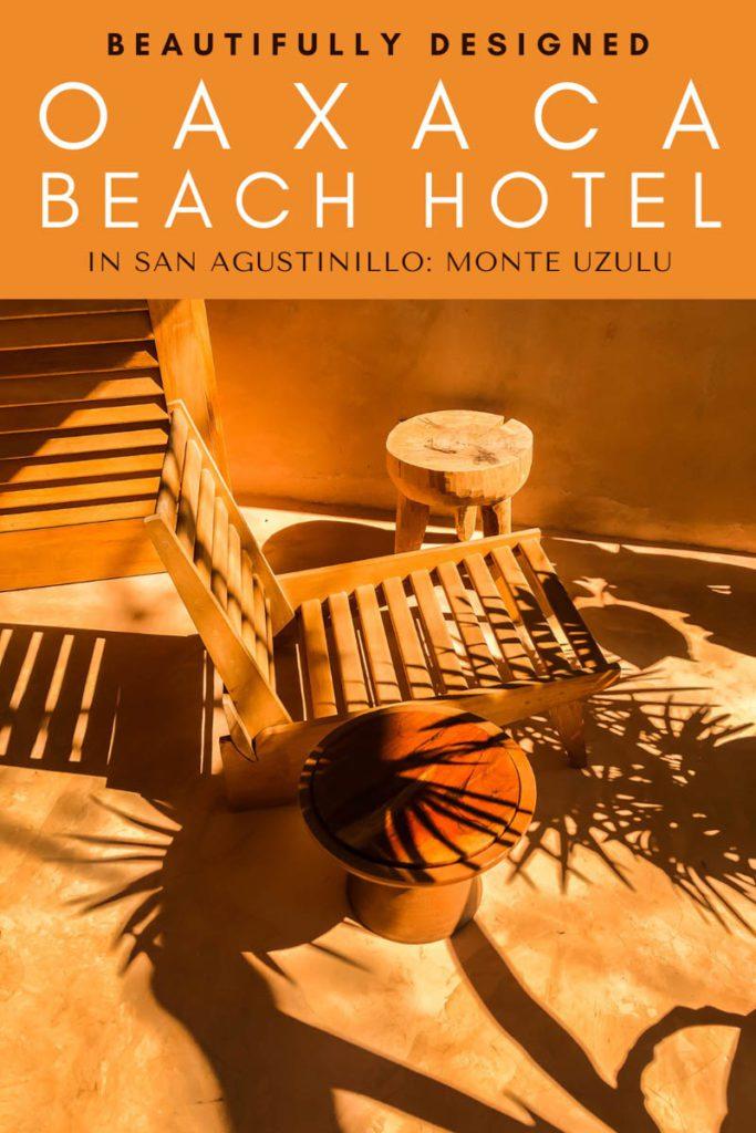 monte uzulu oaxaca beach hotel in san agustinillo pinterest