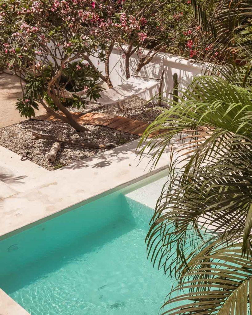 pool at casa baba hotel